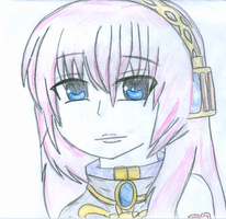 Luka .:hand drawn:. by RinKagamine-Vocaloid