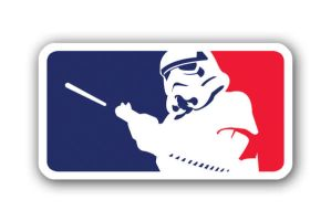 Stormtrooper MLB Logo Parody by theCrow65