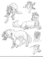 Sketch Sheet: Kinnome by FlannMoriath