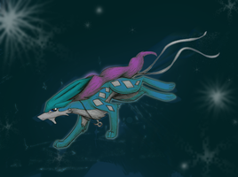 Suicune by MF99K