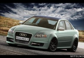 Audi RS4 by mitsukodesign