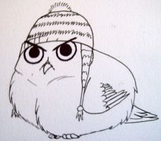 Puggy Owl by FireBlood1