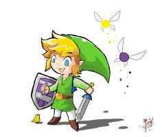 Request: Albane Link by Malfey