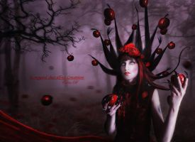 Dark Apples by Le-Regard-des-Elfes