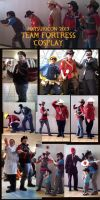 Matsuricon 2013 Team Fortress Cosplay by kungfubellydancer