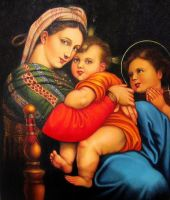 Jeronimo Lopez - Madonna by QCC-Art