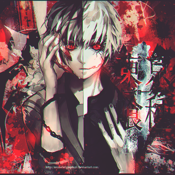 Tokyo Ghoul by mizaelelGraphics