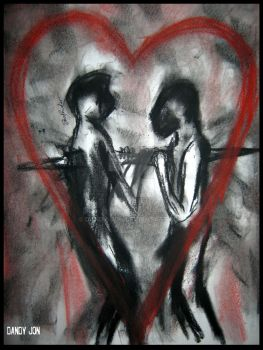 Our Love/The Double Edged Sword by Dandy-Jon