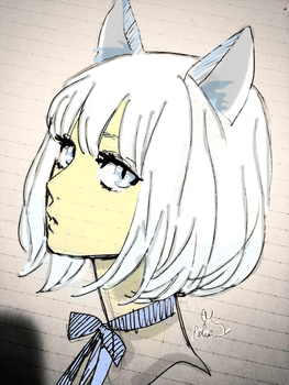 Wolf Girl Thingy by TheDopeMachine