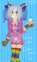 Cake for Cake-chaaan by MissEde