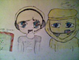 Pewdiepie and Stephano by polkadots12345