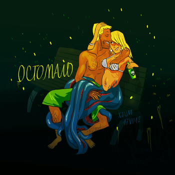 Octomaid by xulm