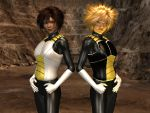 Saiyan Armor For Xurge3D's Peacemaker For M4/V4 by Seijimei