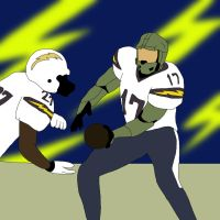 NFL Player Master Chief: San Diego Chargers by ssvineman