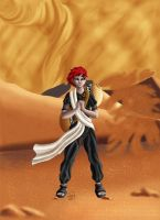 Gaara of the desert by Wictorian-Art