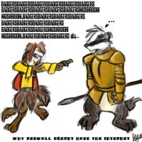 BADGERBADGERBADGER Lords by angelblood