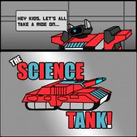 THE SCIENCE TANK by Fishbug