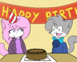 Birthday suprise by Born2Lose12