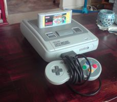 My SNES by Tripp-X-Foxx