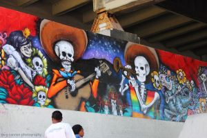 Burnside Skatepark Day of the Dead by worldtravel04