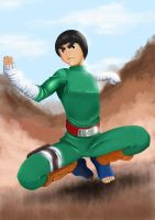 Rock Lee by thisisedmund