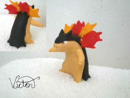 157 Typhlosion by VictorCustomizer