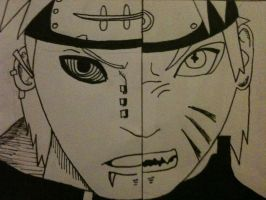 Naruto VS Pain by paladin-warrior