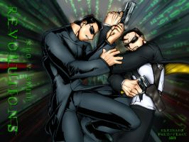 Matrix: Neo vs. Smith by Bensaret