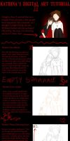 How I draw - A sort of Tutorial by katpann