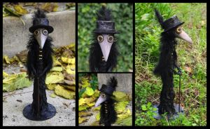 Plague. One Of A Kind Art Doll by Lauramei