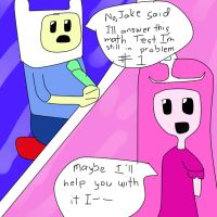 Adventure Time comic: Math or Science pg. 2 by Det2x
