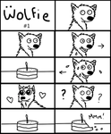 Wolfie #1 by cookiefur