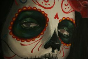 Eyes of a mexican skull. by SandOfSahara