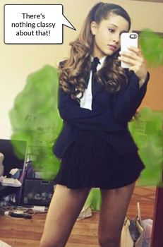 Ariana Grande's Business Casual Gas by Fireball02
