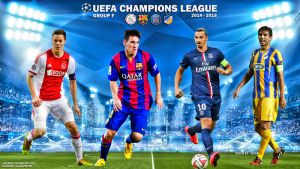 Champions League 2014-15 Group F by jafarjeef