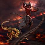 Serpent and Styx by SapphireGamgee