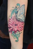 a girlie tattoo by graynd