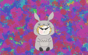 Baby Totoro Dave by DollyChippewa