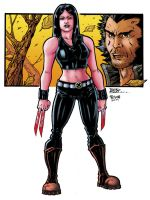 x23 and logan color troiano by adagadegelo