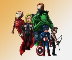 The Avengers by Silver-Fate