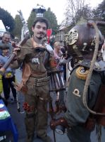 Steampunk - Lucca Comics 2013 by Groucho91