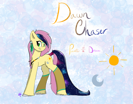 Contest Entry: Dawn Chaser ~ Painter of Dreams by Paint-Splotch