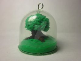 Polymer Clay Mini Tree Dome by Darklunax110
