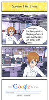 OC Ask: Ms. Chase 9 by YoshiMAN555