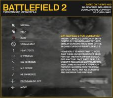 Battlefield 2 Cursors by Josephs