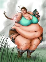 Large Lara Croft by Ray-Norr
