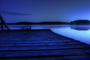 Distant Star over Blue Waters by duncan-blues