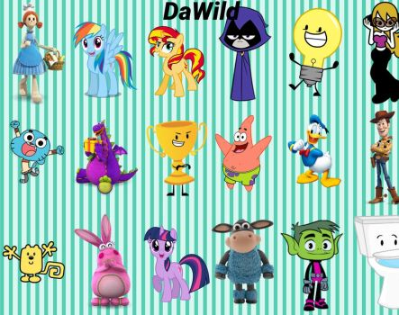 DaWild's Wallpaper Collage 3 by DaWild