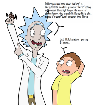 :RickandMorty:~The SAUCE of all things awesome~ by SchwiftyBurito