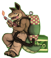 Dingodile by DextriuX